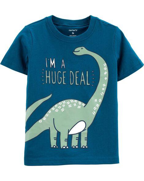 I'm A Huge Deal Dinosaur Tee