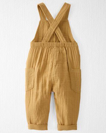 Organic Cotton Gauze Overall Jumpsu...