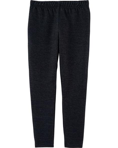 Legging en tricot denim