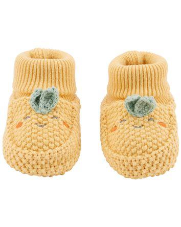 Turnip Crochet Booties