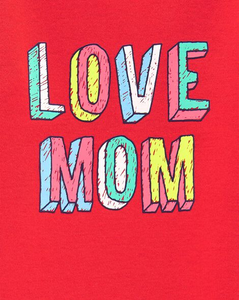 Love Mom Collectible Bodysuit