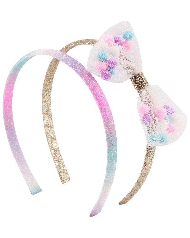 2-Pack Bow Headbands, , hi-res