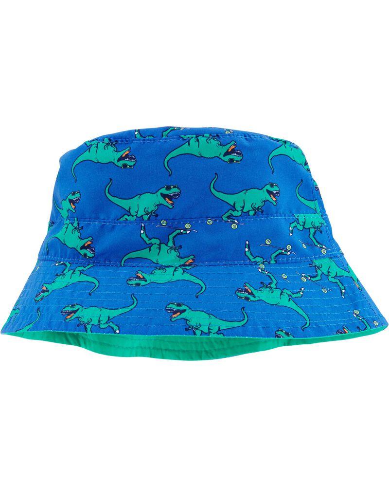 Reversible T-Rex Print Bucket Hat, , hi-res