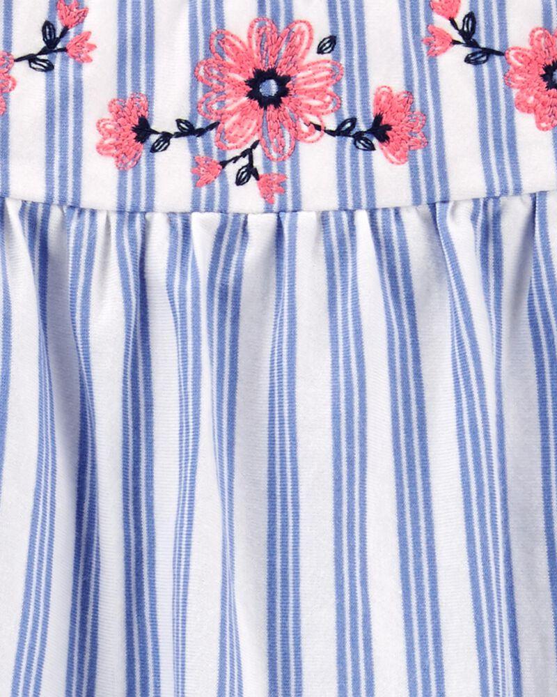 2-Piece Striped Top & Short Set, , hi-res