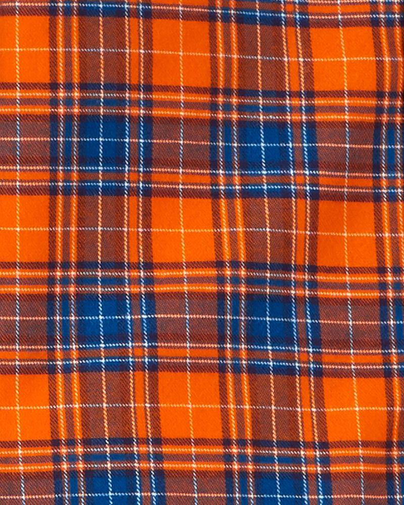 2-Piece Button-Front Shirt & Denim Pant Set, , hi-res