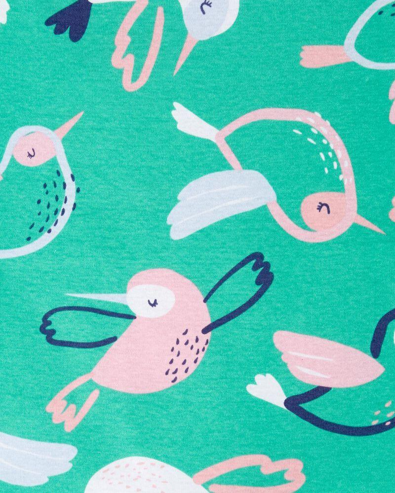 4-Piece Bird 100% Snug Fit Cotton PJs, , hi-res