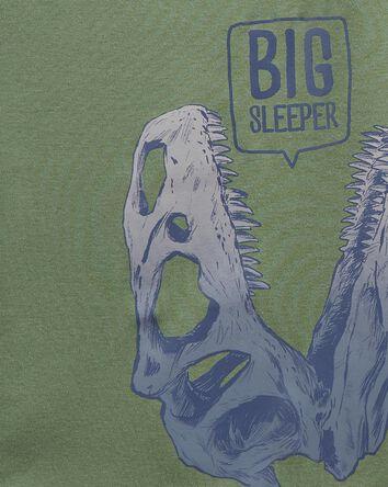 4-Piece Dinosaur 100% Snug Fit Cott...