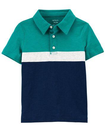 Slub Jersey Polo