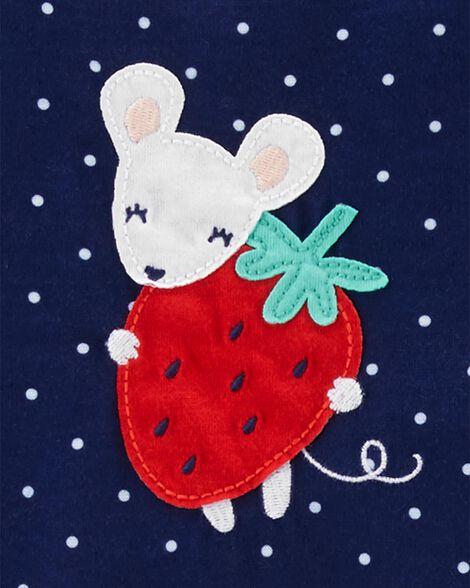 Emballage de 2 robes de nuit à fraise
