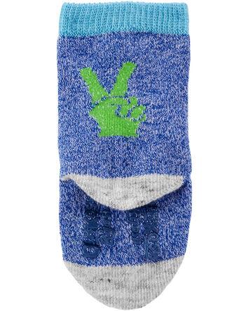 6-Pack Neon Crew Socks