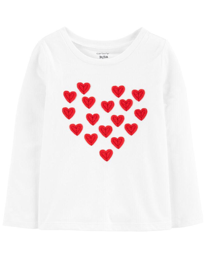 T-shirt à cœur, , hi-res