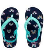 Sandales de plage arc-en-ciel, , hi-res