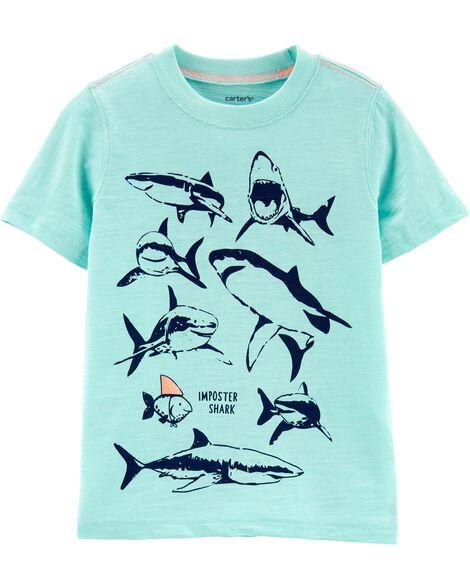 Shark Slub Jersey Tee