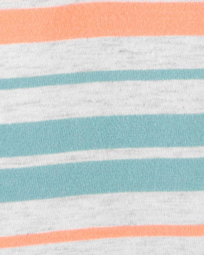 Striped Hooded Romper, , hi-res