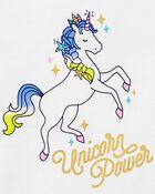 T-shirt à nœud aux manches Unicorn Power, , hi-res