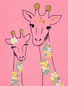 Glitter Giraffe Jersey Tee, , hi-res