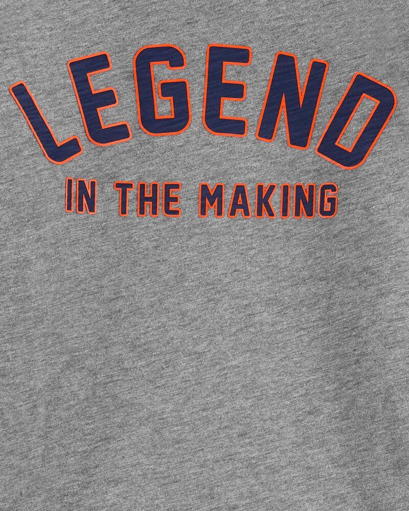 T-shirt en jersey flammé Legend, , hi-res
