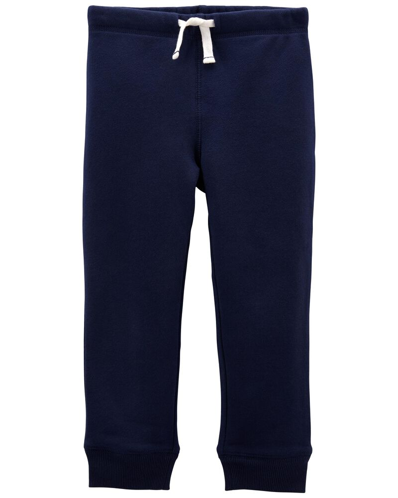 Pantalon à enfiler en molleton, , hi-res