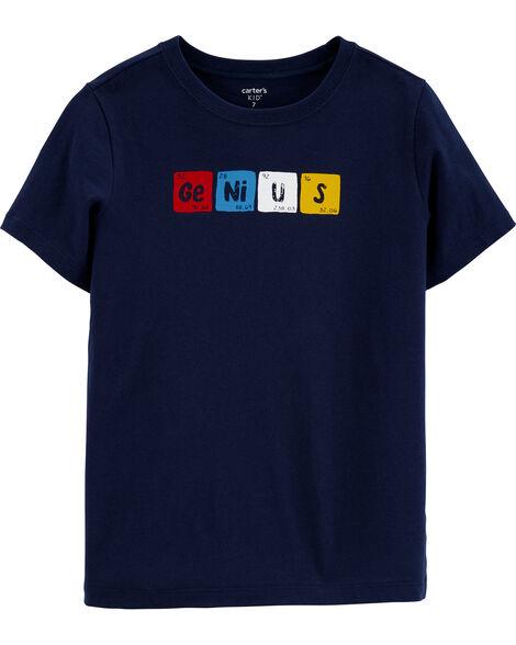 T-shirt en jersey Genius Chemistry