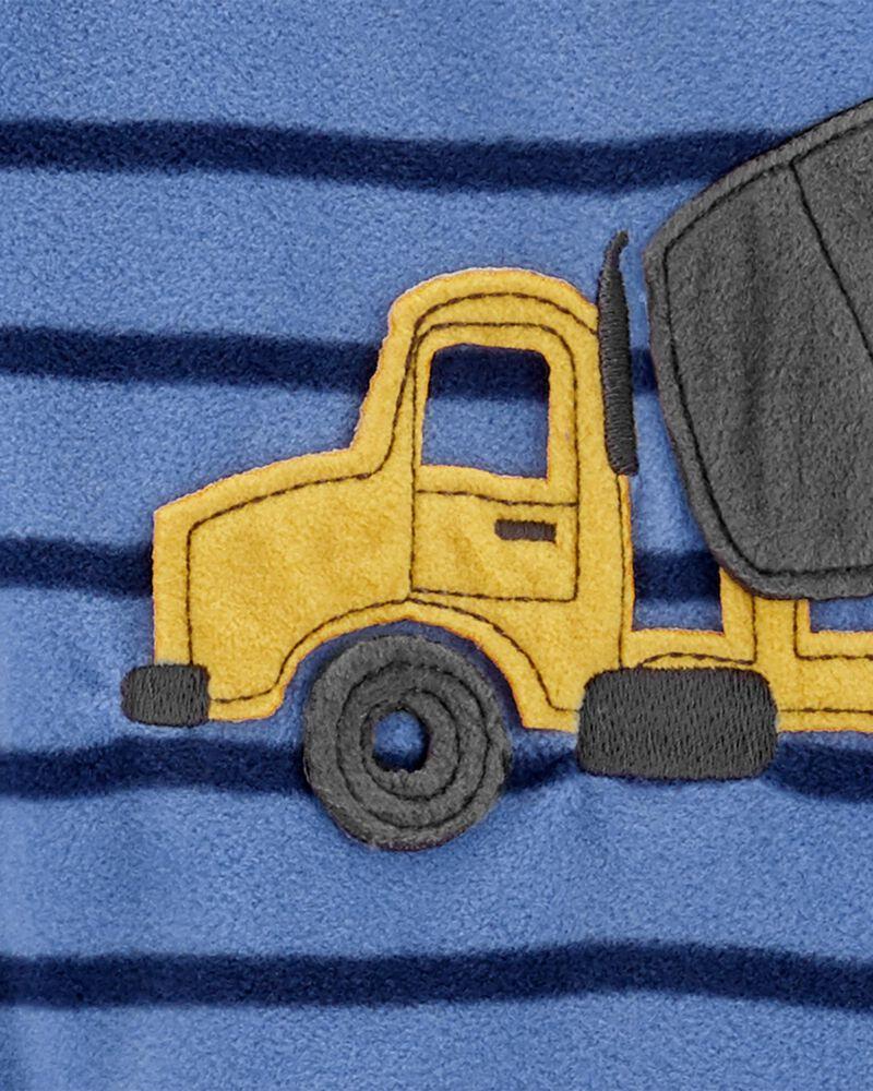 1-Piece Construction Fleece Footless PJs, , hi-res