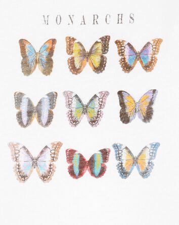 T-shirt à papillon Tween
