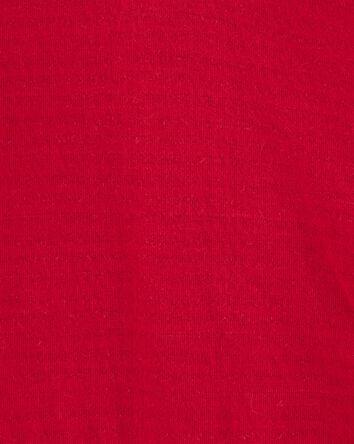 Cache-couche henley à tricot double...