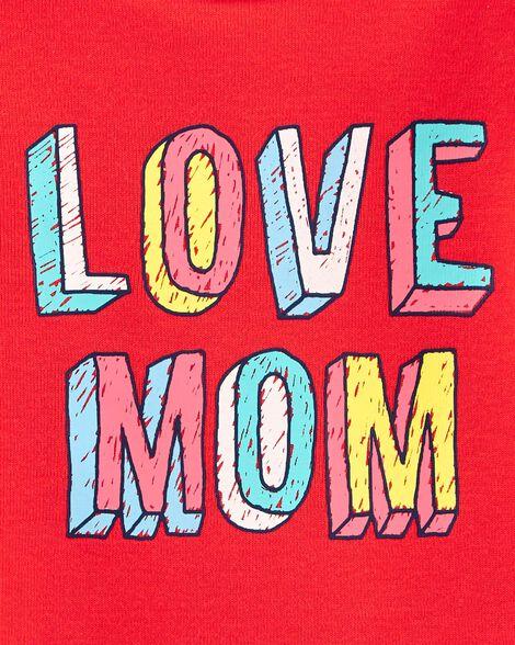 Cache-couche à collectionner Love Mom