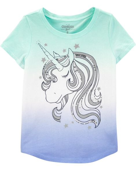 Dip-Dye Unicorn Top