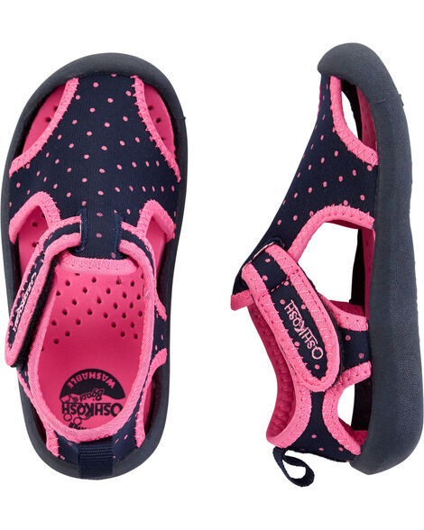 Polka Dot Water Shoes