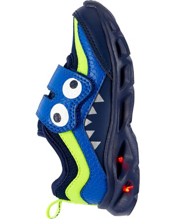 Chaussures monstre qui s'illuminent