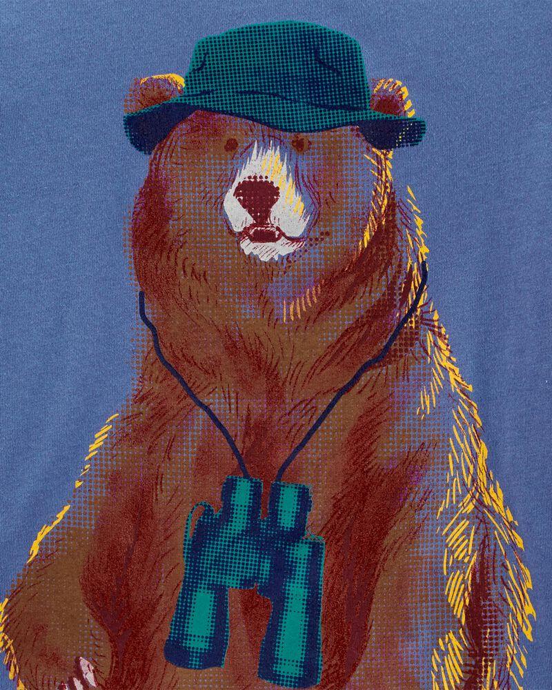 Bear Jersey Tee, , hi-res