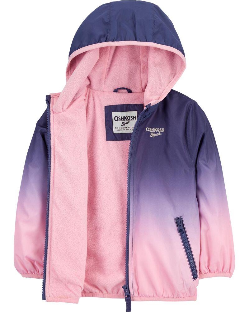 Ombre Fleece-Lined Lightweight Jacket, , hi-res