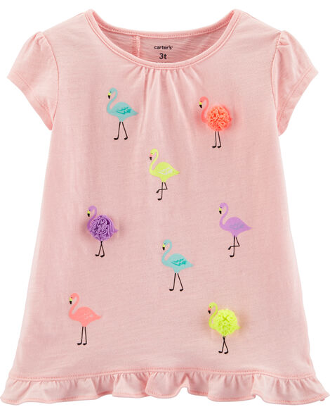 Flamingo Cross-Back Top