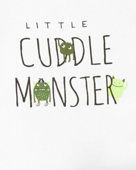3-Piece Monster Little Character Set