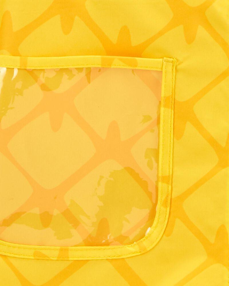 Imperméable à imprimé d'ananas, , hi-res