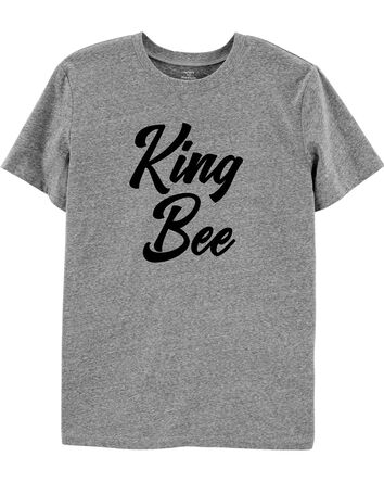 Adult Men King Busy Bee Jersey Tee