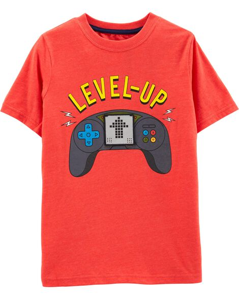 Interactive Gamer Snow Yarn Tee