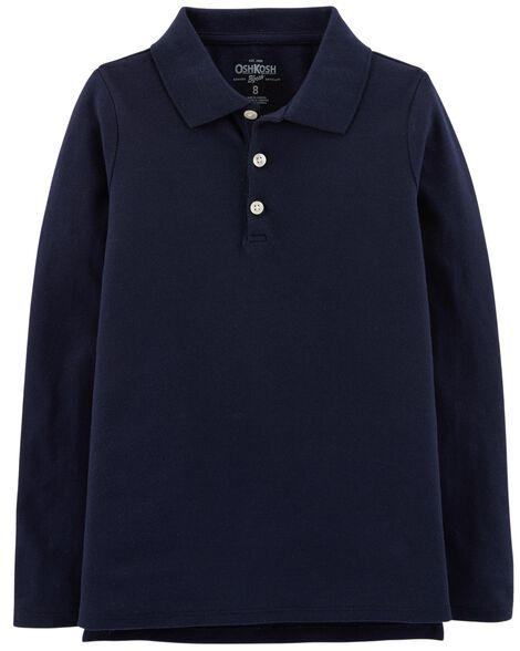 Stretch Uniform Polo
