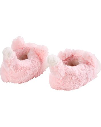 Pink Fox Slippers