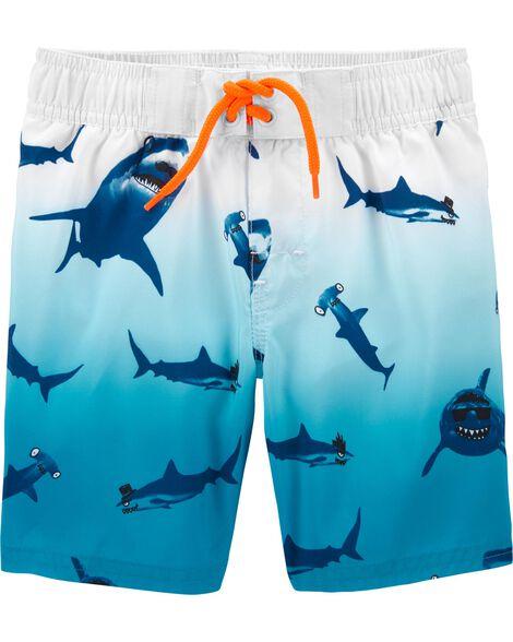 Maillot de bain à imprimé requins