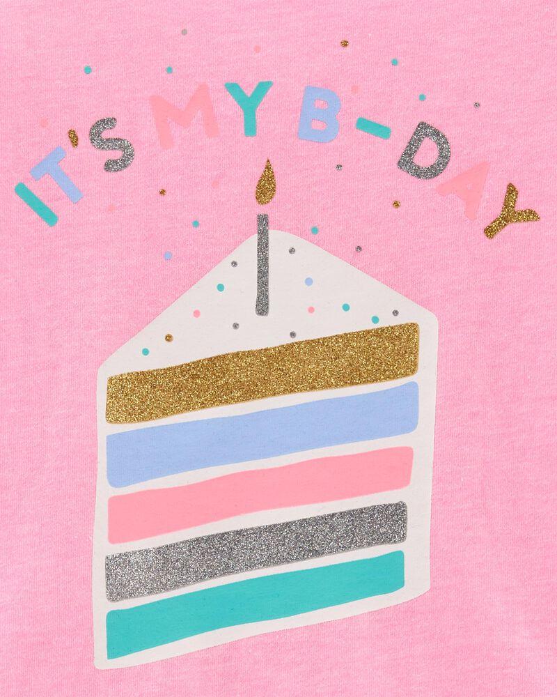 Birthday Cake Peplum Top, , hi-res