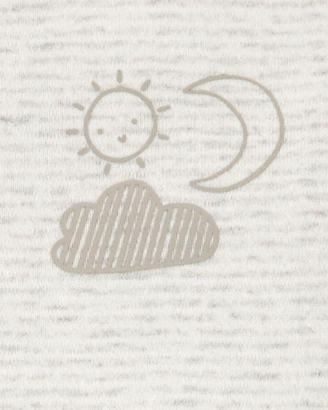 Emballage de 6 cache-couches originaux soleil et lune