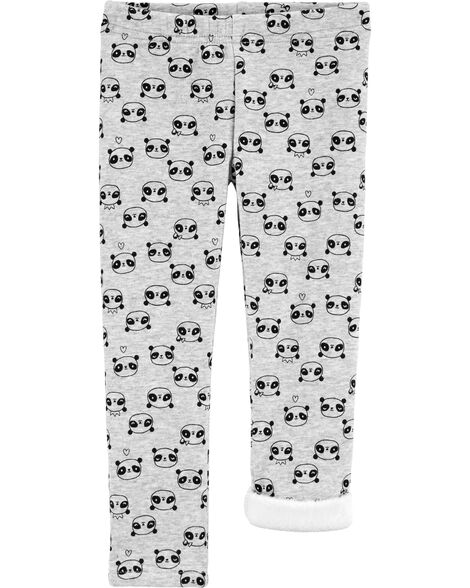 Panda Cozy Fleece Leggings