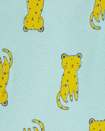 Cache-couche original à léopard