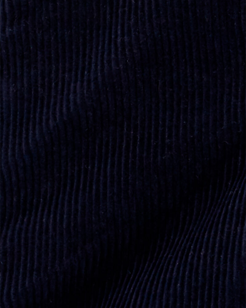 Salopette en velours côtelé doublé de jersey, , hi-res