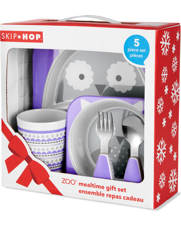ZOO Winter Melamine Gift Set- Owl