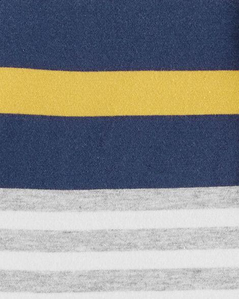 Striped Jersey Henley