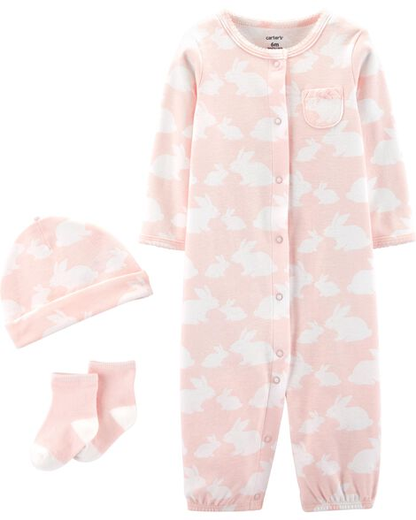 3-Piece Bunny Take-Me-Home Set