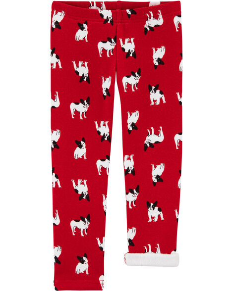 French Bulldog Cozy Fleece Leggings