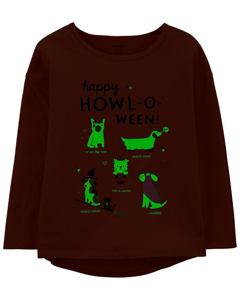Glow Halloween Jersey Top, , hi-res